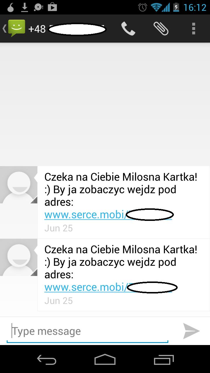 Miłosny spam SMS-owy