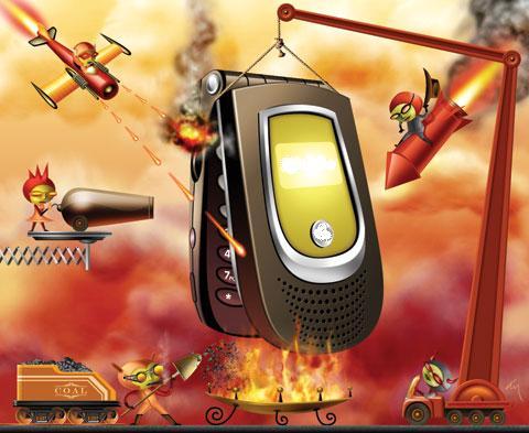 Inwazja mobilnych wirusów