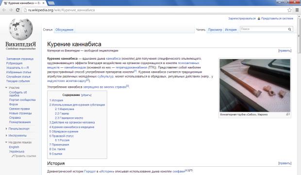 Hasło zakwestionowane przez rosyjski urząd antynarkotykowy - zrzut ekranu