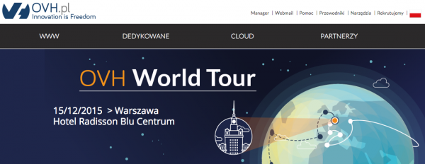 ovh world tour