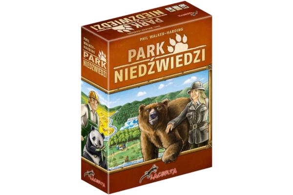 Prezent dla ośmiolatki. Gra planszowa Park Niedźwiedzi