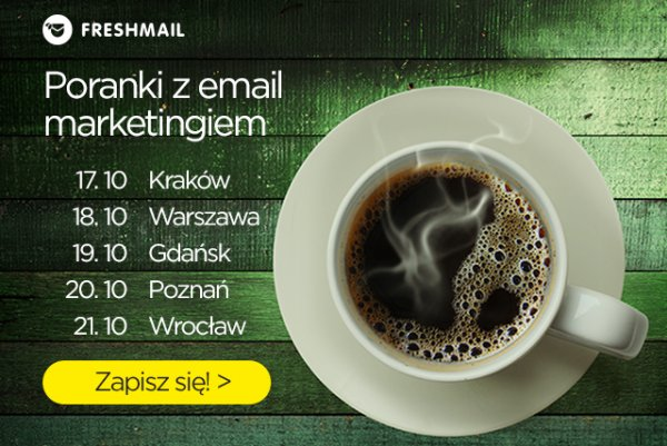 Poranki z email marketingiem