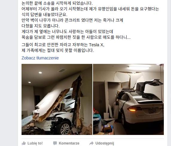 Post na Facebooku