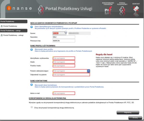 Portal Podatkowy