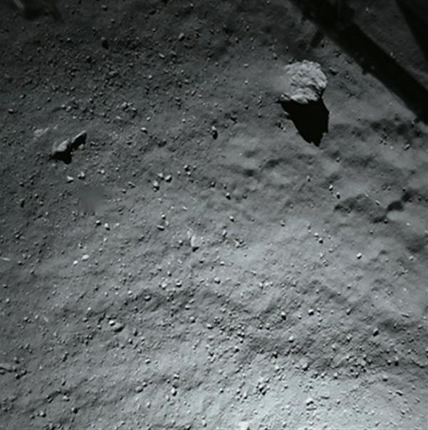 40 m nad kometą