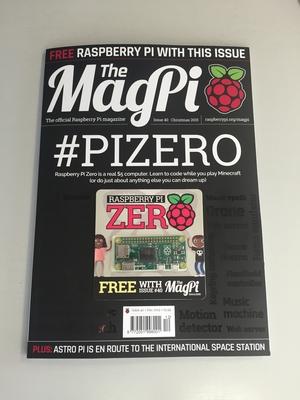 MagPi z komputerem Raspberry Pi