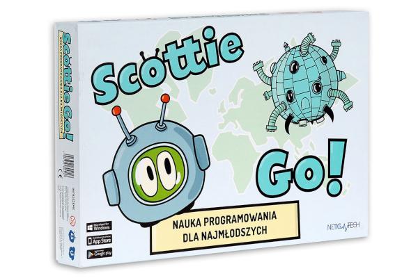 Prezent dla siedmiolatka. Scottie Go! Gra-nauka programowania