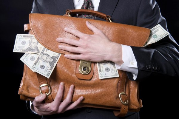 Teczka pieniędzy
