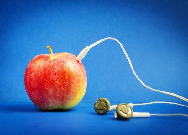 Muzyka z jabłuszka