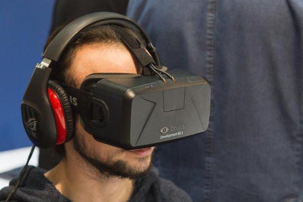 Facet z Oculusem