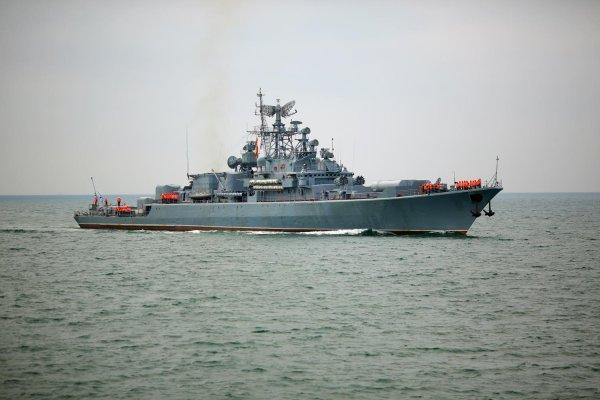 Rosja - okręt wojskowy