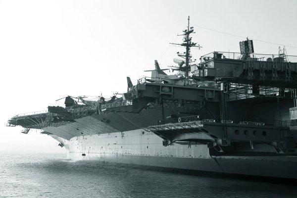 Lotniskowiec US Navy