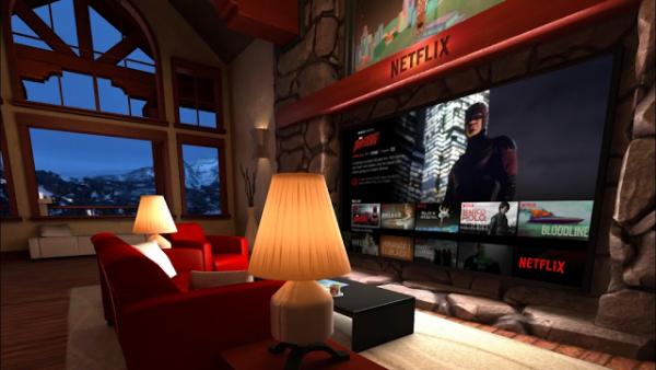 Netflix i wirtualny pokój