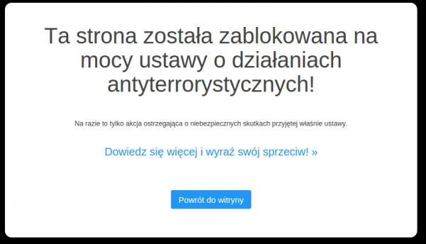 Strona Zablokowana
