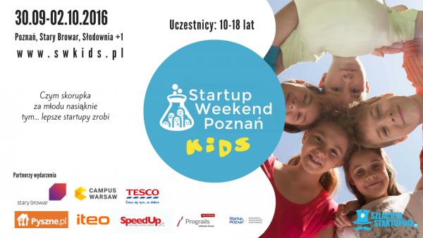 Startup weekend kids poznań