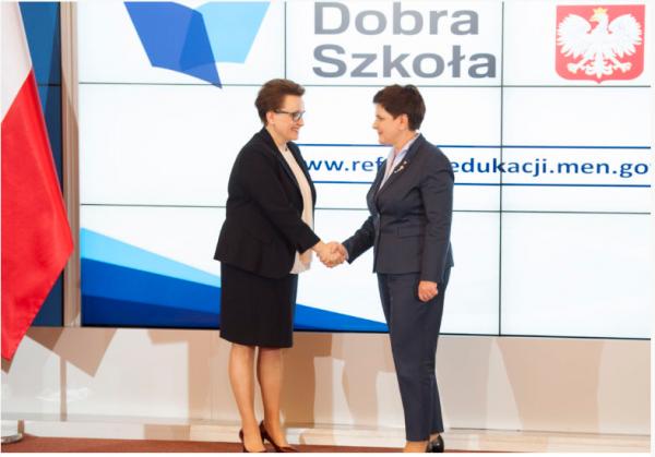 Beata Szydło i Anna Zalewska