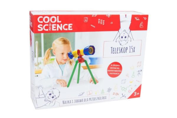 Prezent dla pięciolatki. Teleskop Cool Science