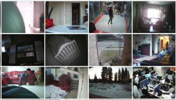 obrazy z kamer