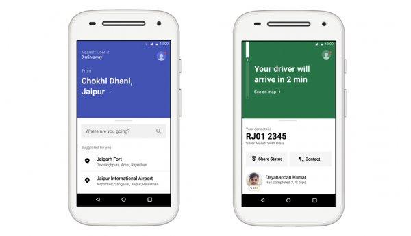 Odchudzony Uber rusza w Indiach