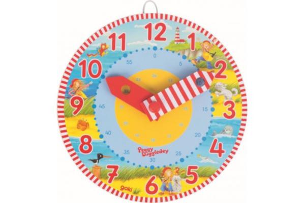 Prezent dla pięciolatki. Zegar do nauki godzin