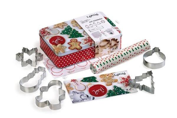 Prezent - gadżet świąteczny na Mikołajki. Zestaw do dekorowania i pakowania pierniczka