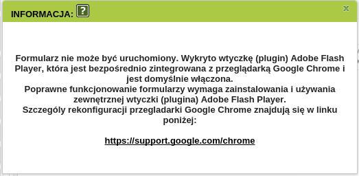 PUE ZUS i Chrome